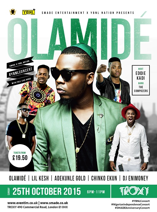 Olamide set for London concert | Music In Africa