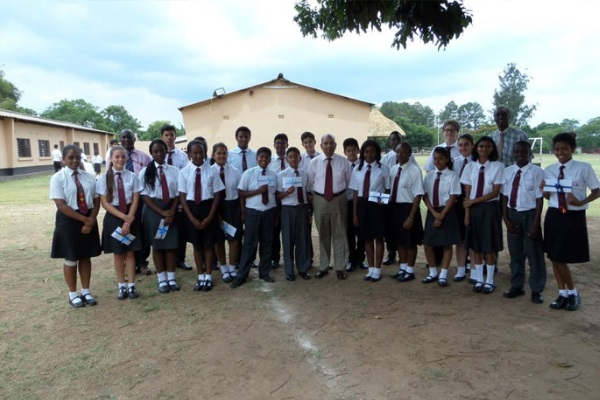 Lechwe School Music In Africa