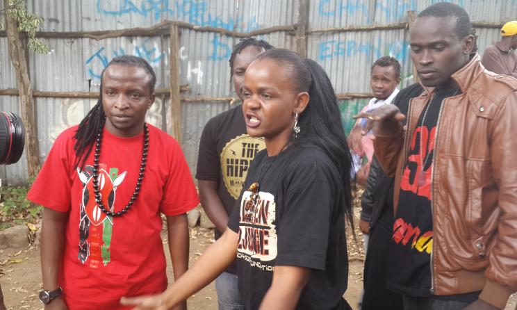The Hip Hop base in Dandora, Nairobi