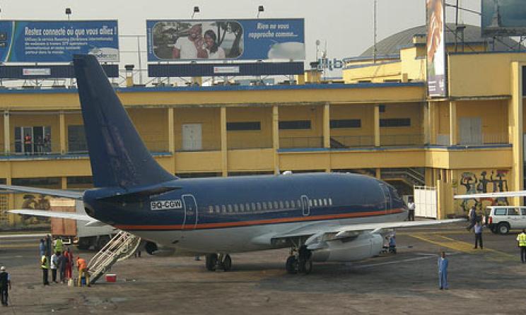 aéroport de N'Djili en RD.Congo (c) www.radiookapi.net