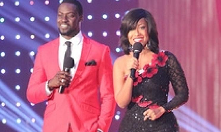 Host of last years events, Ghanaian superstars Chris Attoh and Jocelyn Dumas. Image: Ameyaw Debrah