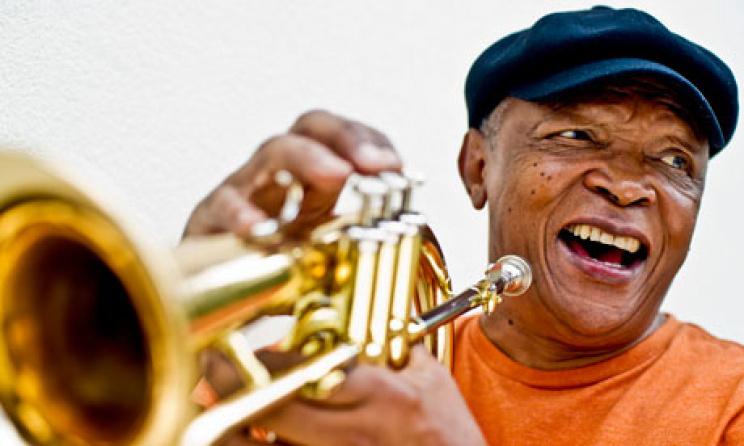 Hugh Masekela. Image: The Guardian