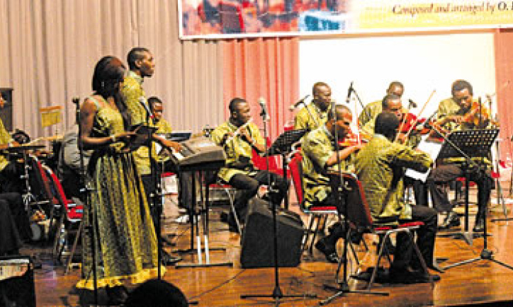 Orchestra of the MUSON School. Lagos. Image: Musical Society of Nigeria