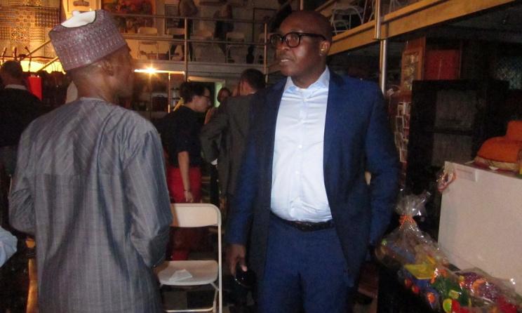 Architect and Musician Koku Konu and Hakeem Adedeji