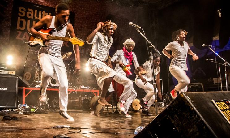 Sarabi du Kenya au Festival Sauti za Busara (ph) Peter Bennet
