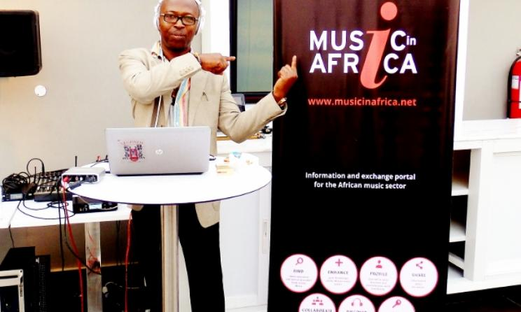 Superstar DJ Raymond Browne endorses Music In Africa