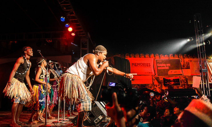 Segere Original group of Tanzania at the 2014 Sauti za Busara. Photo by Peter Bennett.
