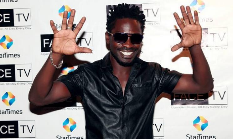 Bobi Wine endorses Uganda's Face TV. Photo: bigeye.ug