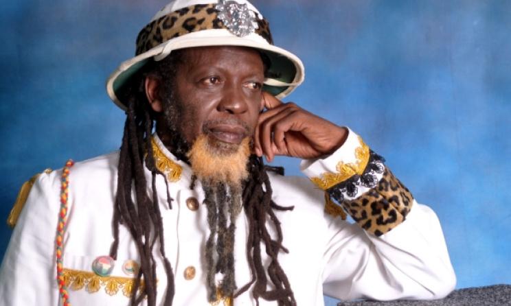 South African reggae artist Carlos Djedje.