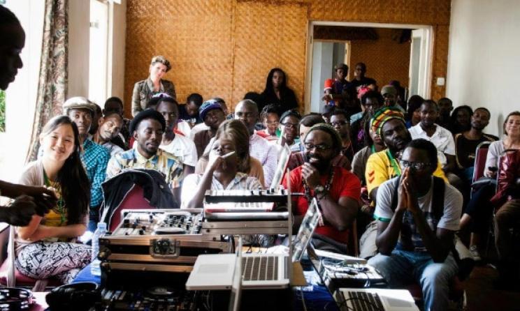 A workshop at DOADOA last year. Photo: Bwette Gilbert Daniel