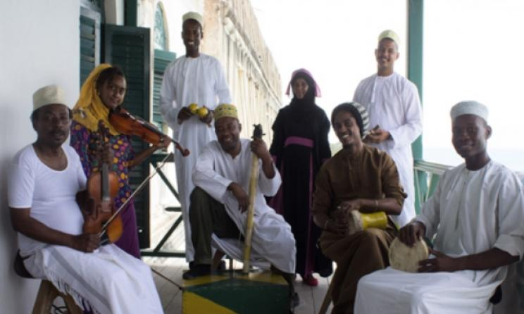 The DCMA's Taarab-Kidumbak Ensemble. Photo: www.zanzibarmusic.org