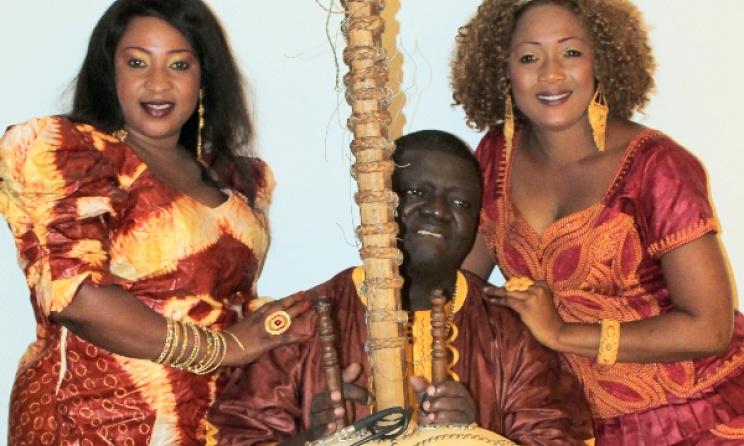 Gambian kora player Jaliba Kuyateh. Photo: thegambia.nu