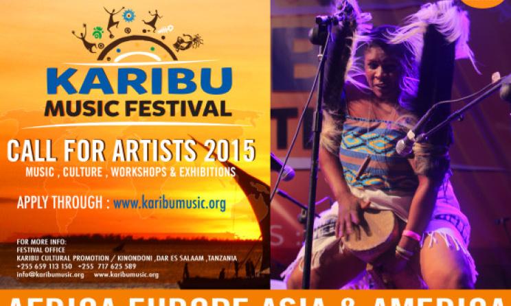 Karibu Music Festival Call For Artists Music In Africa