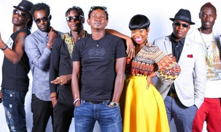 Judges in the Maisha Superstar content. Photo: www.howwe.biz