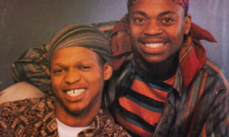A young Spikiri and Mdu in MM Deluxe. Photo: afrosynth.blogspot.com