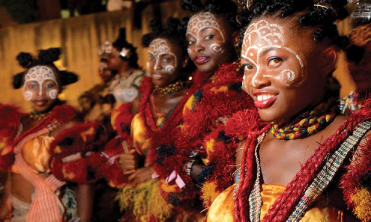 Danseuses traditionnelles. (ph) kwekudee-tripdownmemorylane.blogspot.com