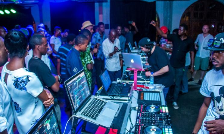 Crowd at Soundscape concert, Lagos. Photo: Jere Ikongio