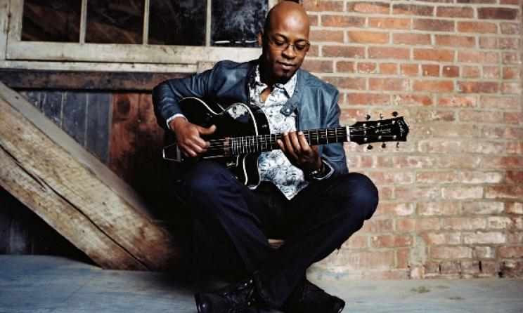 Benin-born guitarist Lionel Loueke. Photo: Brantley Gutiurrez