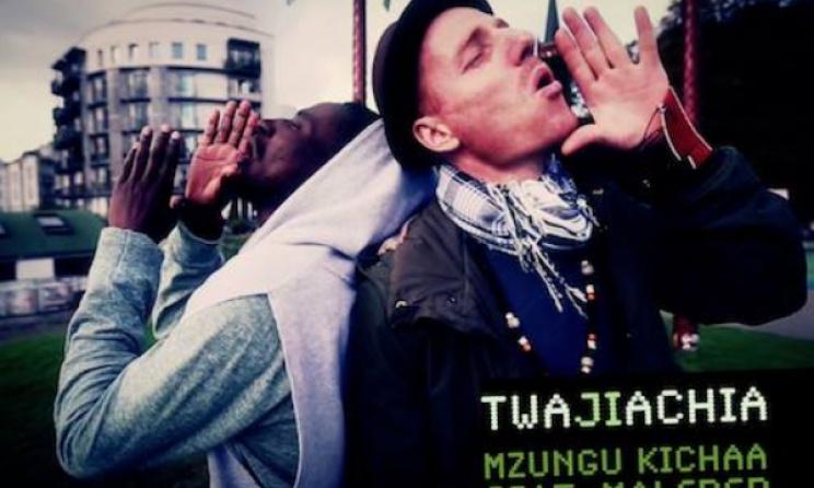 A still from Mzungu Kichaa's new video 'Twajiachia'.