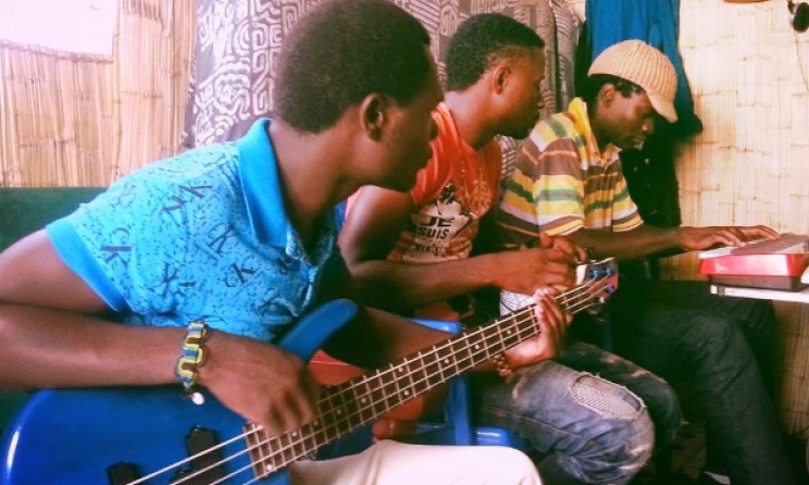 A recording session in Malawi. Photo: Piksy/Facebook