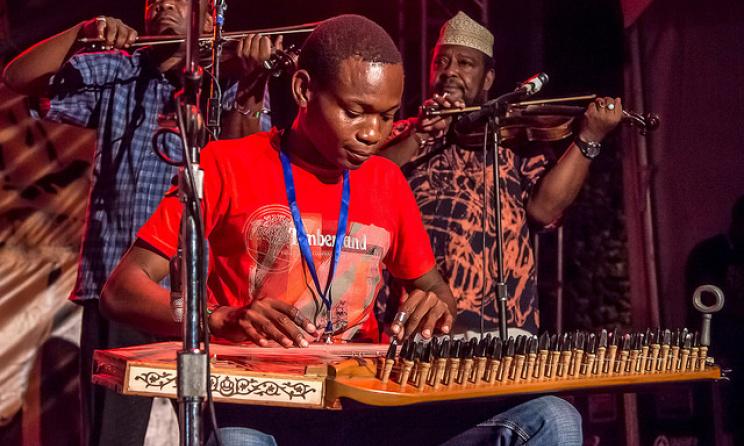 Swahili Encounters Group at the 2014 Sauti za Busara. Photo: Peter Bennett
