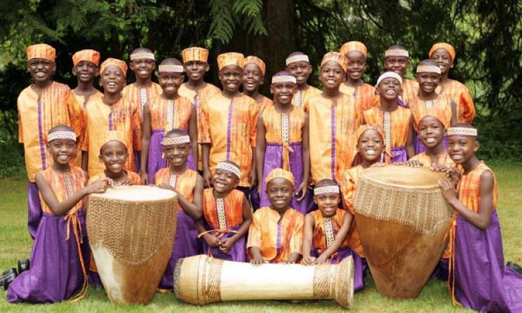 The African Children's Choir. Photo:www.africanchildrenschoir.com