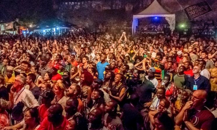 The audience at Sauti za Busara 2015. Photo: Peter Bennett