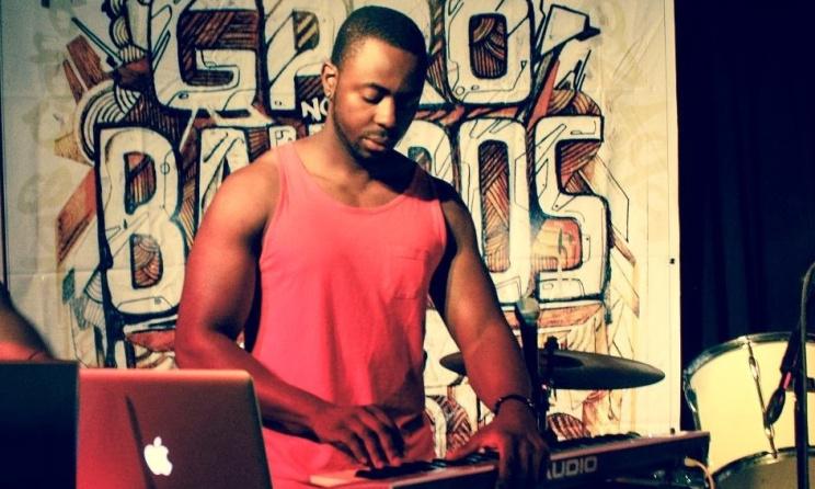 Mozambique music producer Ellputo. Photo:www.vitommusics.blogspot.com