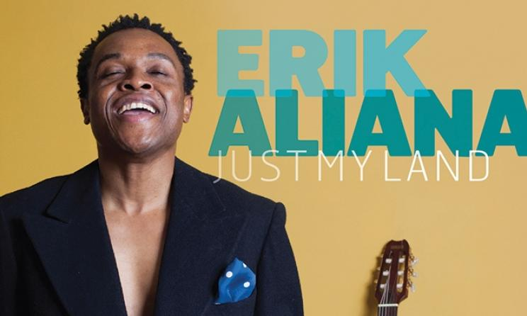 """Pochette de l'album """"Just My Land"""" d'Erik Aliana. (ph) Erik Aliana"""