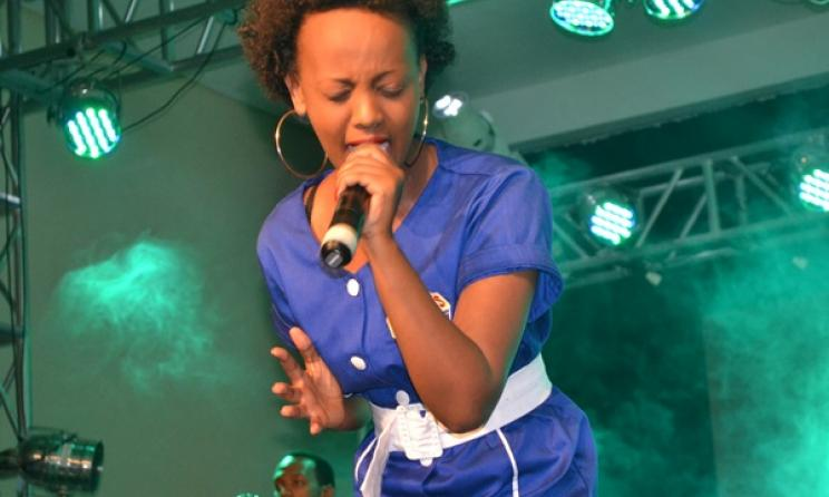 Knowless Butera during a live performance. Photo:www.igihe.com