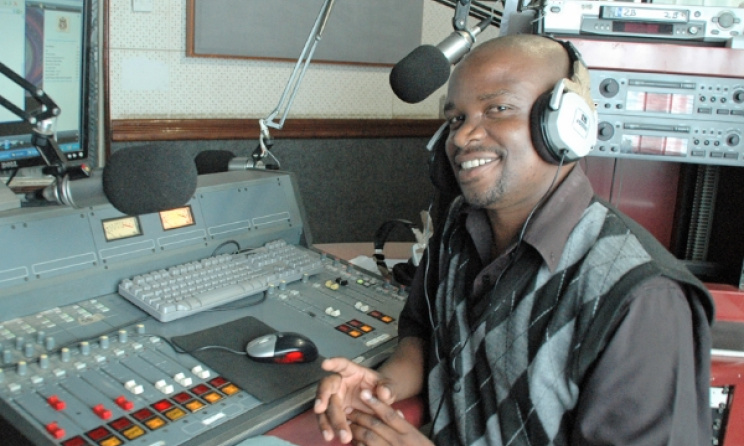 Lloyd Phiri, MIJ (Malawi Institute of Journalism) Radio. Photo: blog.worldvision.org