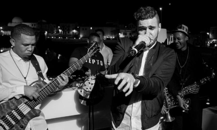 Mi Casa perform at a recent gig in Portugal. Photo: Facebook