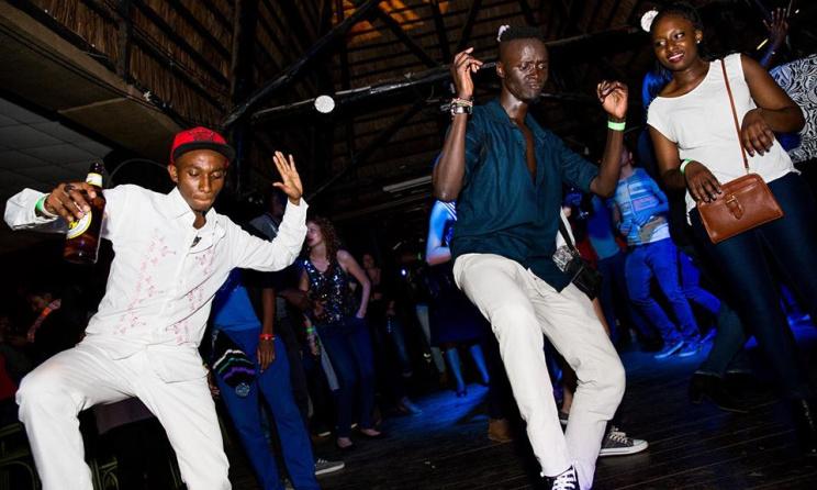 Revelers at a concert in Nairobi. Photos:Quaint Photography