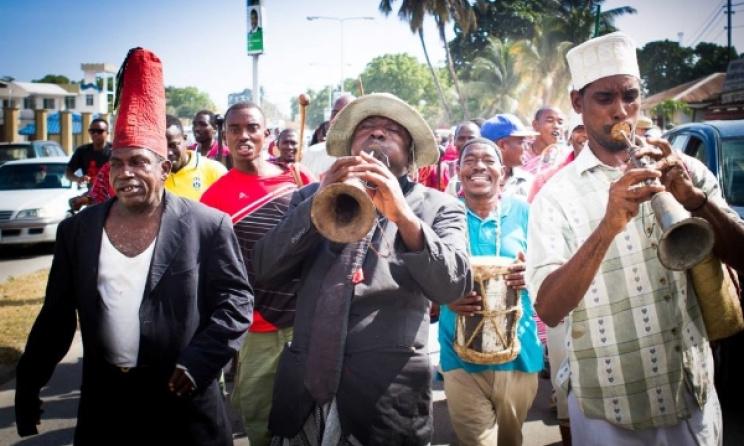 Music on the streets of Zanzibar during Sauti za Busara. Photo: Facebook