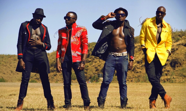 Kenyan Afro-pop group Sauti Sol. Photo: www.nairobiwire.com