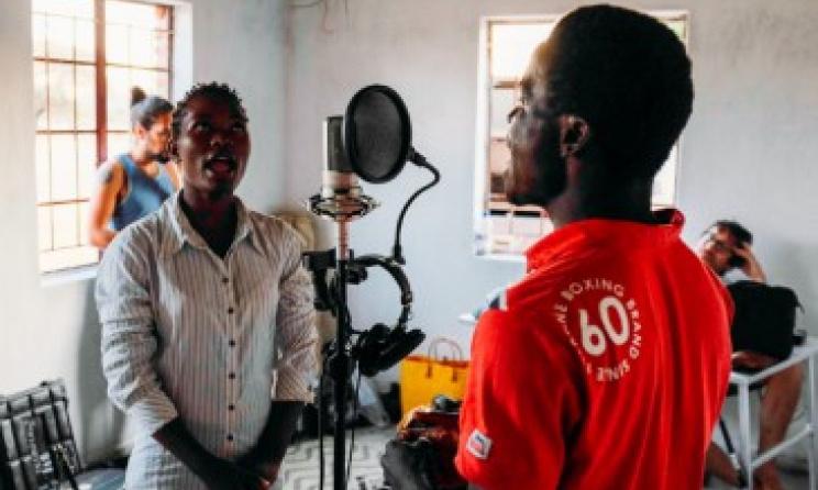 (Ph) Studio d'enregistrement mobile Wired for Sound au Malawi