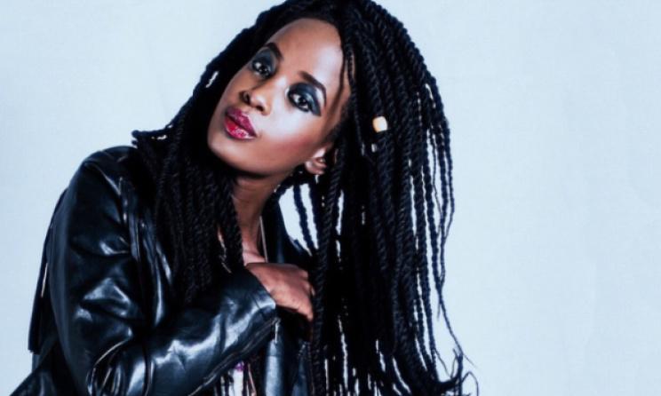 Kenyan female rapper Wangechi. Photo:www.allafrica.com
