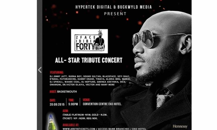 Poster for Fortyfied concert