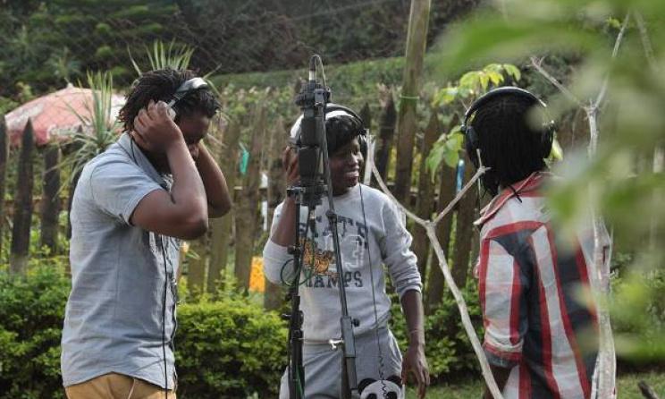 Recording Sessions. Photo courtesy of Santuri Safari Facebook page