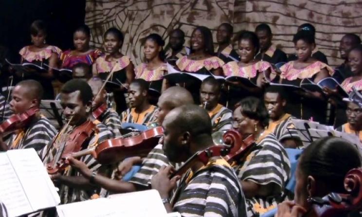 Ghana Orchestra & harmonious Chorale-Kokrokoo. Photo: YouTube