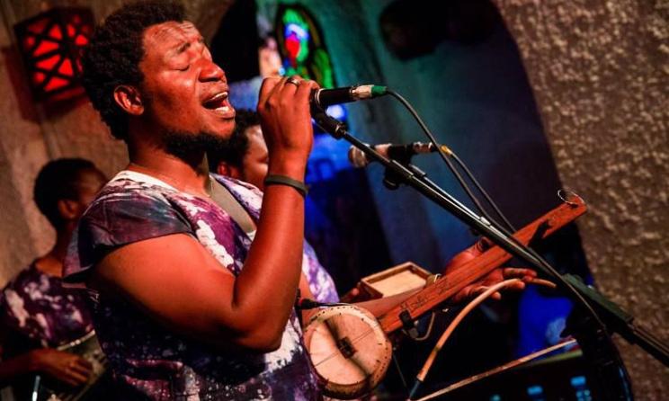 Tanzanian artist Msafiri Zawose. Photo: Quaint Photography
