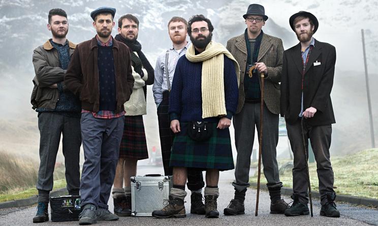 Scottish band, Mungo's Hi-Fi. Photo: www.theguardian.com