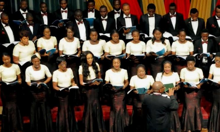 The MUSON choir