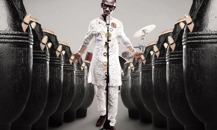 Okyeame Kwame will headline GhanaFest in South Africa. Photo: ok.ghanaweb.com