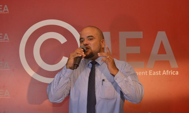 CMEA CEO P Funk Majani. Photos courtesy of CMEA Facebook page