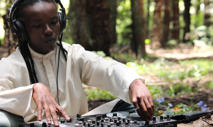 Kenyan artist Saint Evo. Photo: www.upnairobi.com