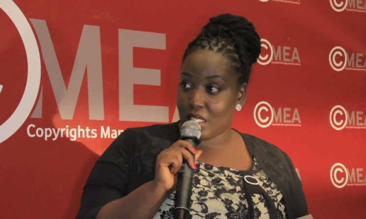 COSOTA CEO Doreen Sinare speaking during the launch of CMEA in Tanzania. Photos courtesy of CMEA Facebook page