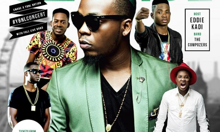 Olamide plays London poster