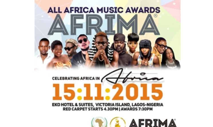 AFRIMA 2015 poster