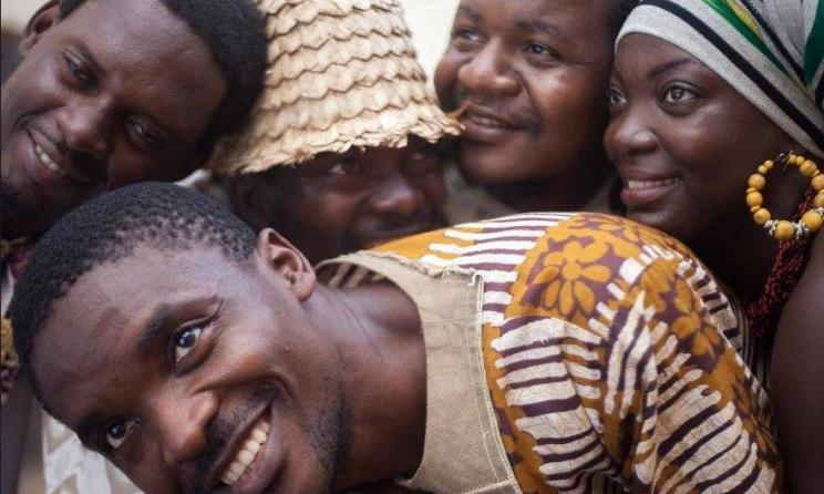 Le groupe camerounais love'N Live. (ph) Sarah Dauphiné Tchouatcha